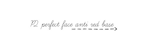 p2 perfect face anti red base