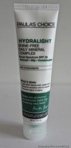 Paula´s_Choice_Hydratlight Shine-Free Daily Mineral Complex with SPF 30 with Antioxidants