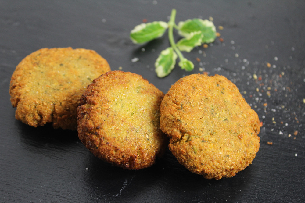 Bodychange Shop Falafel Mix Vegan fertig gebraten