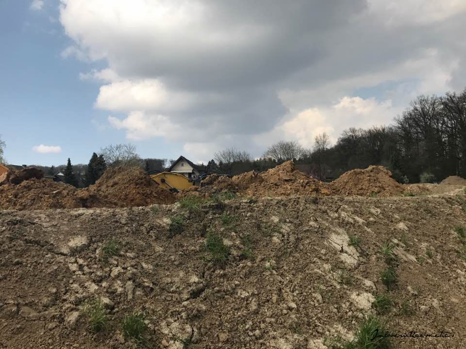 Hausbau Town and Country Baustelle