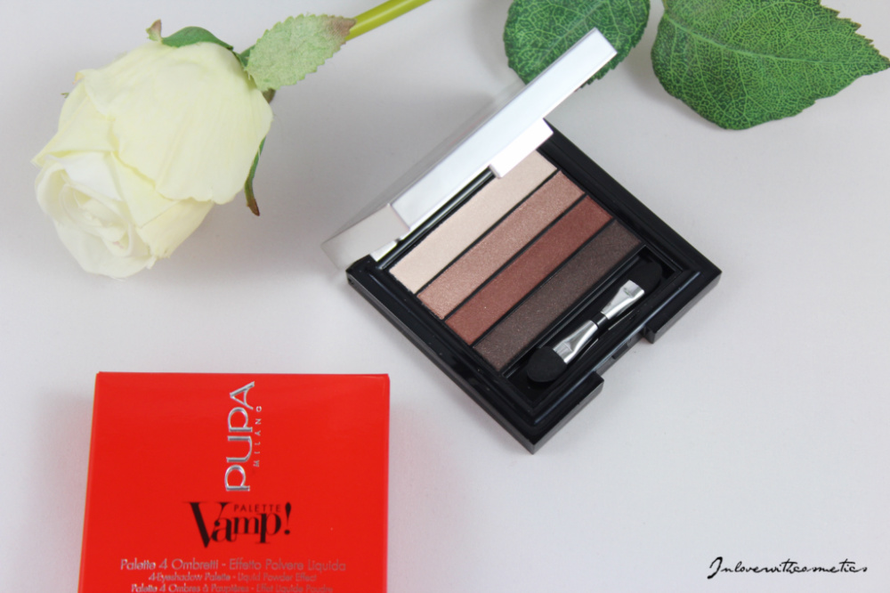 Pupa Milano Vamp! Eyeshadow Palette Smokey Eyes Brown Pupa Milano waterproof Eyeshadow