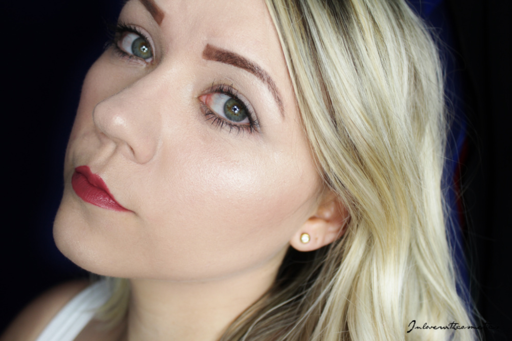 Artdeco Most Wanted Brows Palette test