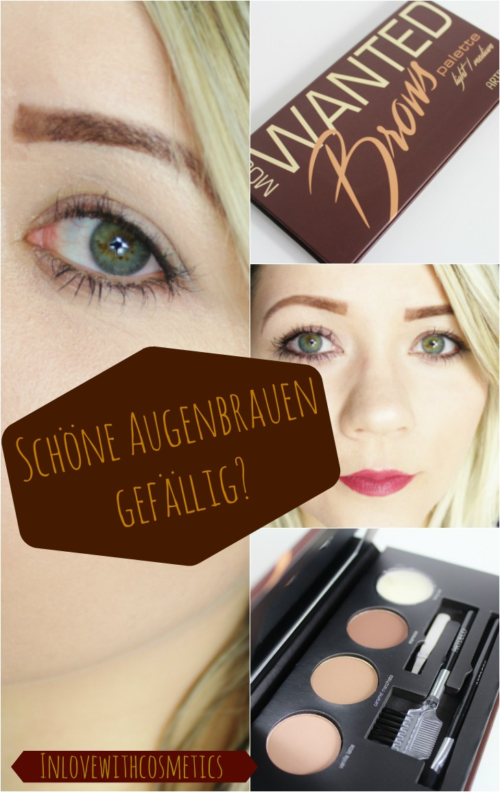 Artdeco Wanted Brows Palette